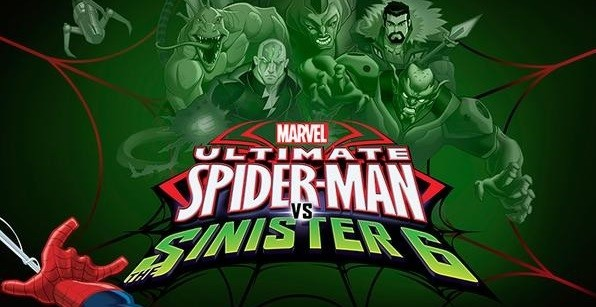 Ultimate Spider-Man season 4 titled card