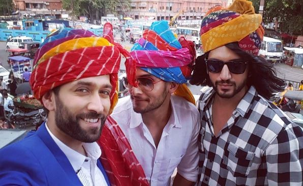 "Here's all you need to know about new show ""Ishqbaaaz."" Pictured: ""Ishqbaaaz"" co-actors Nakuul Mehta, Kunal Jaisingh and Kunal Jaisingh"