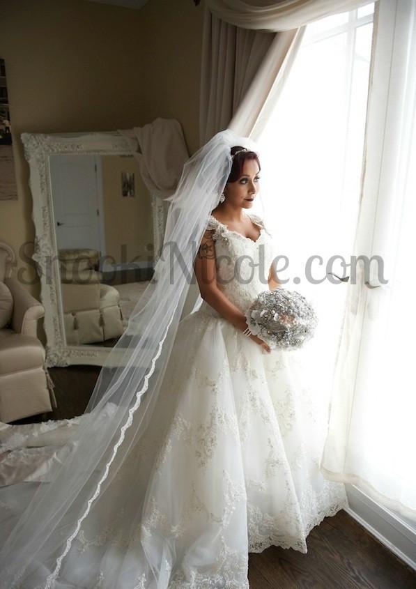 Snooki's wedding dress