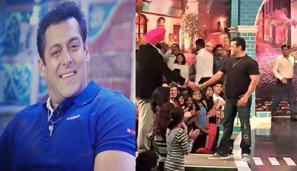 Salman Khan,Bajrangi Bhaijaan movie promotion,Comedy Nights With Kapil,Salman Khan Promotes Bajrangi Bhaijaan on Comedy Nights With Kapil,Salman Khan on Comedy Nights With Kapil,Bajrangi Bhaijaan,bollywood movie Bajrangi Bhaijaan,comedy nights with kapil