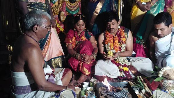 Vidharth (Vidhardh) Marries Gayathri Devi