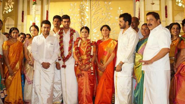 SR Prabhu-Deepthi Wedding: Suriya & Other Celebs Wish Newly Married Couple