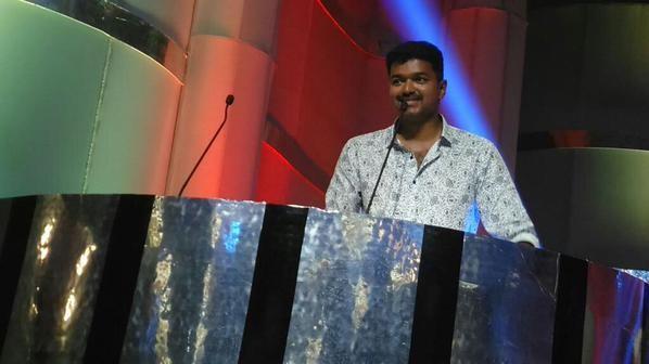 Vijay at 'Puli' Audio Release Function