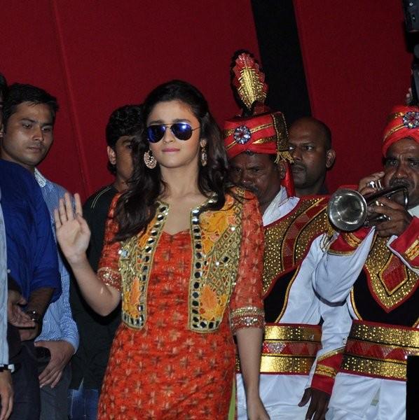 Alia Bhatt at Trailer launch of upcoming film 'Humpy Sharma Ki Dulhania'