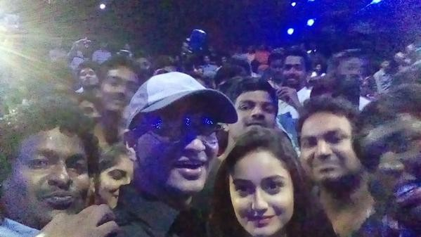 Nikhil Siddhartha Selfie Tour photos,Surya Vs Surya Success tour pictures,Nikhil elfie Tour stills,Nikhil Siddhartha,Surya Vs Surya,Tridha Choudhary