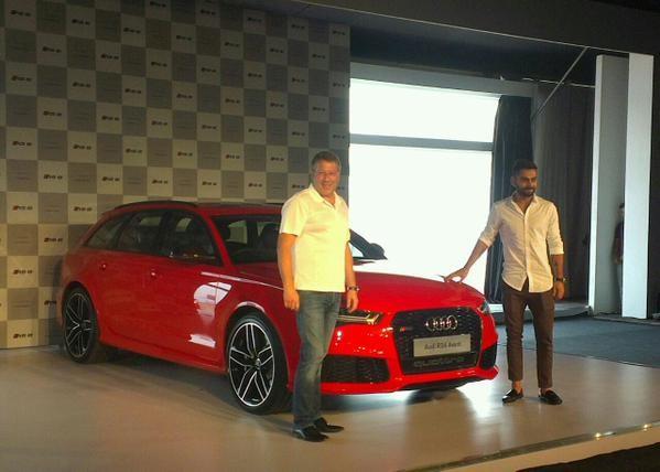 Virat Kohli,Audi car,Audi new car,Virat Kohli pics,Virat Kohli launch Audi RS6 Avant in India,Audi RS6 Avant in India,Audi RS6 Avant,RS6 Avant