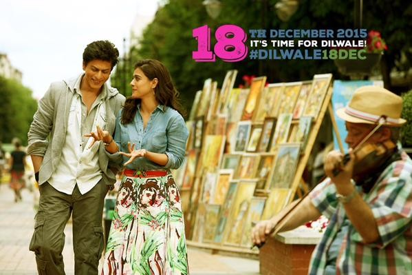 Dilwale Release Date,Dilwale Release Date Poster,Dilwale Poster,Dilwale movie Poster,Kajol,srk,Shah rukh khan,Dilwale pics,Dilwale stills,Dilwale poster
