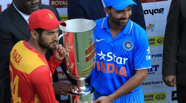 India vs Zim,India vs Zim: 2nd T20 Zimbabwe stun India to level the series,2nd T20,India vs Zimbabwe,India vs Zimbabwe 2015,series level,cricket