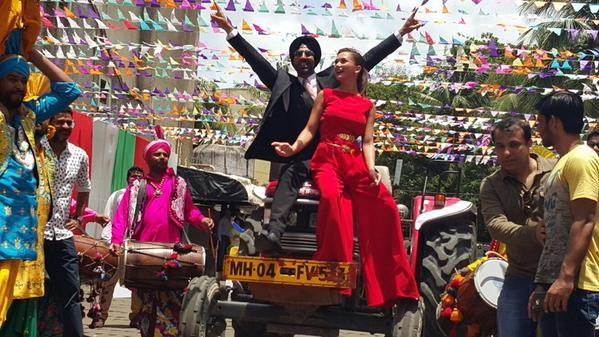 Singh Is Bling Trailer,Singh Is Bling Trailer Launch,Singh Is Bling,Akshay Kumar,Amy Jackson,Lara Dutta,Kay Kay Menon,Singh Is Bling Trailer Launch pics,Singh Is Bling Trailer Launch images,Singh Is Bling Trailer Launch photos,Singh Is Bling Trailer Launc