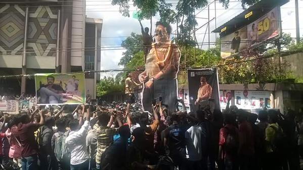 Mohanlal,Mohanlal's Loham,Loham,malayalam movie,malayalam movie Loham,Loham Movie Celebration by fans,Loham Celebration by fans