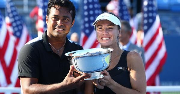 Leander Paes,Martina Hingis,Leander Paes and Martina Hingis,US Open Mixed Doubles Title of 2015,US Open Mixed Doubles Title,US Open Mixed Doubles,Mixed Doubles Title,Mixed Doubles