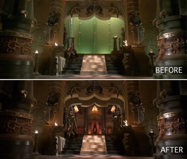 Vijay,Ilayathalapathy Vijay,Puli Before and After VFX Shots,Puli,Before and After VFX Shots,VFX Shots,actor vijay,VFX Shots in puli