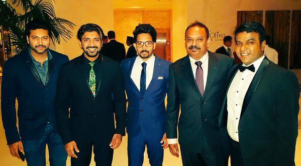 Sachin Tendulkar, Jayam Ravi, Arun Vijay and Bharath ...