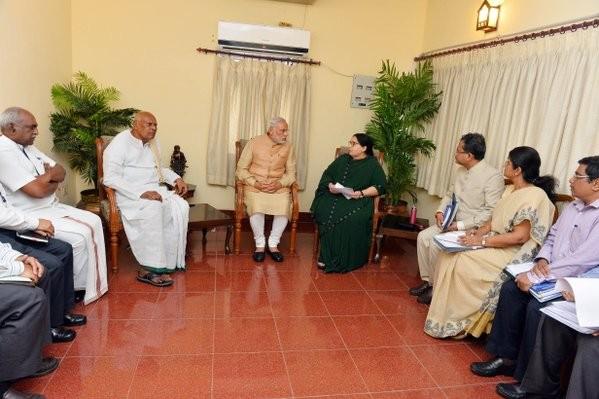 Prime Minister Narendra Modi,Narendra Modi,Modi reaches Chennai,Chennai rain,Chennai floods,Chennai floods rains,Chennai Rains