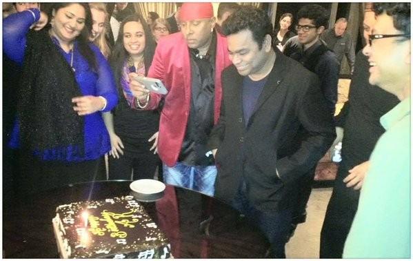 AR Rahman,AR Rahman celebrates 49th birthday,AR Rahman 49th birthday celebration,AR Rahman birthday celebration,Oscar-winning composer AR Rahman,AR Rahman birthday