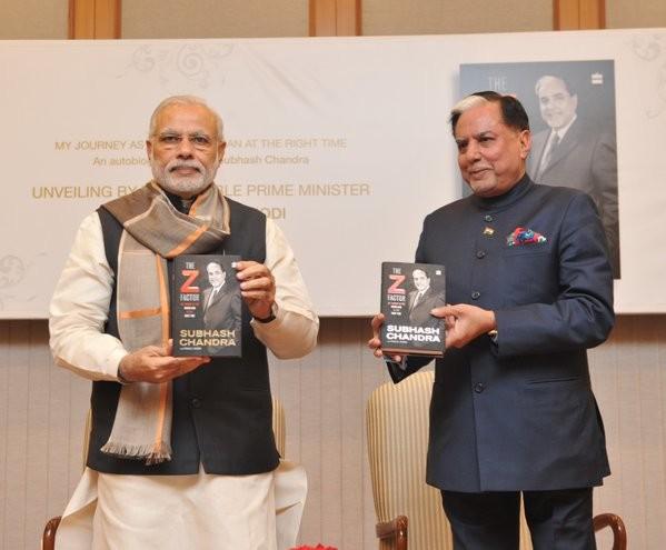Prime Minister Narendra Modi,Narendra Modi,Subhash Chandra,The Z Factor,The Z Factor book