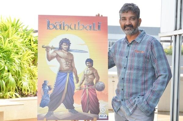 Rajamouli,Baahubali,Baahubali Comics,Baahubali Comics and Animation,Baahubali Animation,Baahubali game,Baahubali novels,Arka Mediaworks