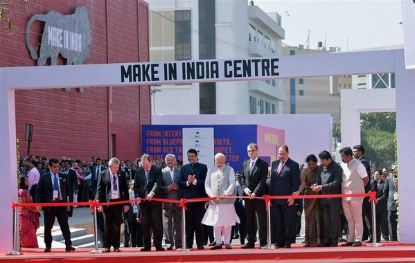 Modi inaugurates Make In India Centre,Make In India,Prime Minister Narendra Modi's 'Make in India',Prime Minister Narendra Modi's 'Make in India' programme,Modi inaugurates Make In India,PM Narendra Modi,Narendra Modi