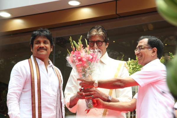 Vikram Prabhu,Prabhu,Amitabh Bachchan,Aishwarya Rai,Akkineni Nagarjuna,Shivaraj Kumar,Kalyan Jewellers,Kalyan Jewellers Inauguration in Chennai,Amitabh Bachchan and Aishwarya Rai Launch Kalyan Jewellers in Chennai