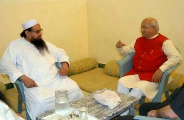 Vaidik meets Hafiz Saeed