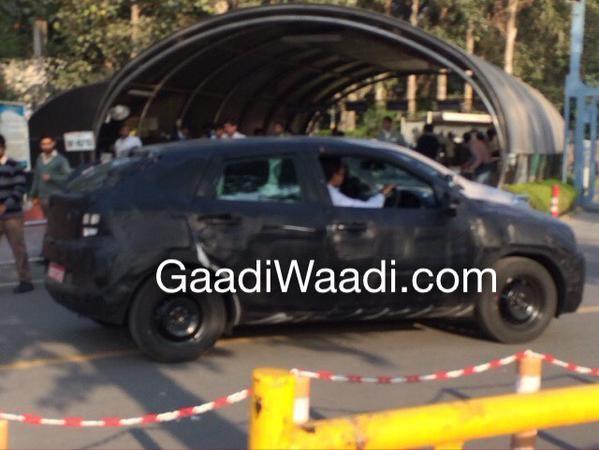 Maruti Suzuki YRA Hatchback Spied Again, Shows Boot Space