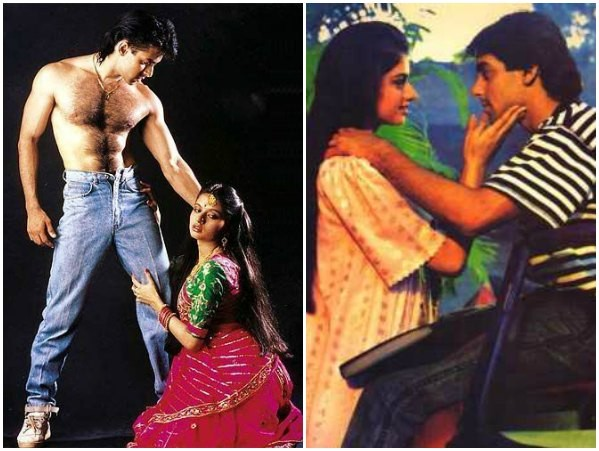 Salman Khan and Bhagyashree in 'Maine Pyaar Kiya'
