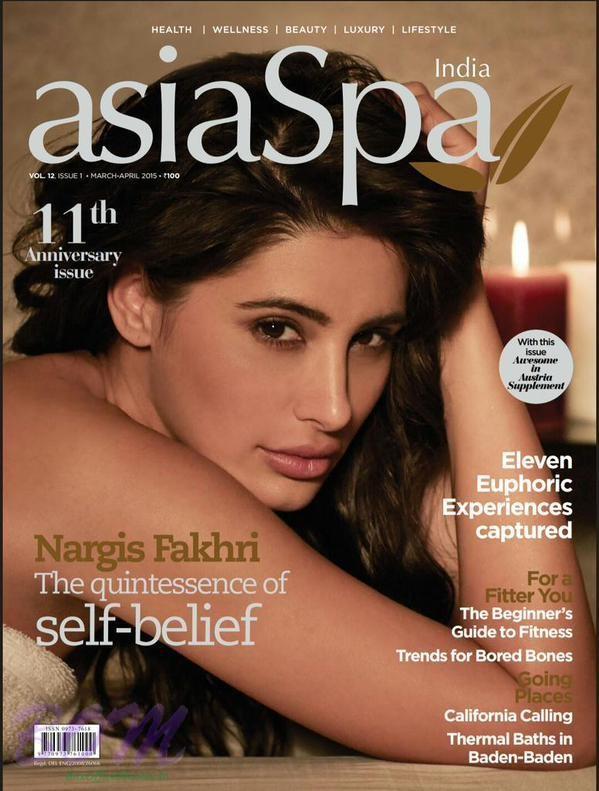Nargis Fakhri Asia Spa