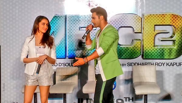 'ABCD 2': Varun Dhawan, Shraddha Kapoor Charm at Trailer Launch