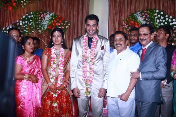 Sivakumar at Arulnidhi's Wedding Reception