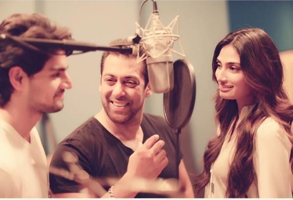 Main Hoon Hero Tera: Salman Khan Records title track of 'Hero'