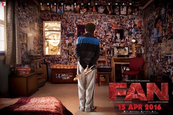 Shah Rukh Khan in 'Fan' poster