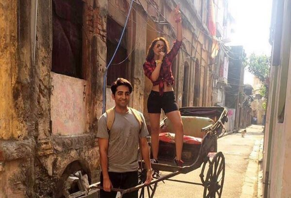 Ayushmann Khurana and Parineeti Chopra dances to Gazab Ka Hai Din; video goes viral