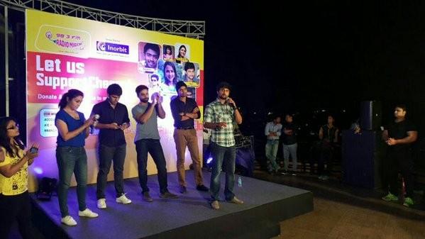 Telugu actors at fundraiser Mana Madras Kosam in Hyderabad