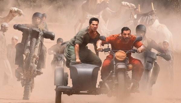 Varun Dhawan, John Abraham first look from 'Dishoom'