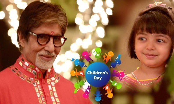 Bollywood celebs tweet 'Happy Children's Day'