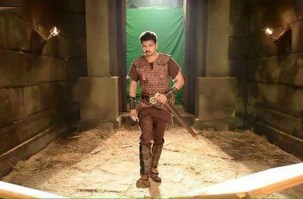 Vijay's Poster from 'Puli'