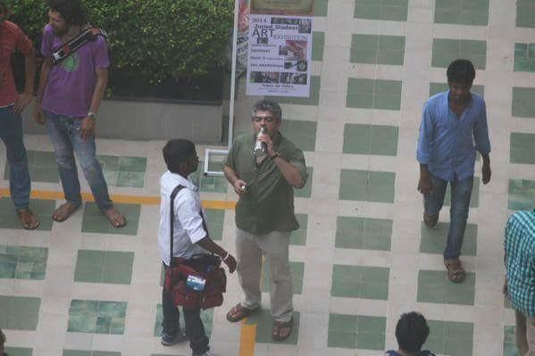 Ajith Starrer 'Thala 56' On the Sets