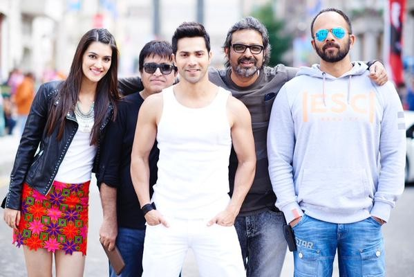 Varun Dhawan in Fun Mode On Sets of 'Dilwale' in Bulgaria