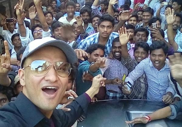 Nikhil Siddhartha's selfie tour