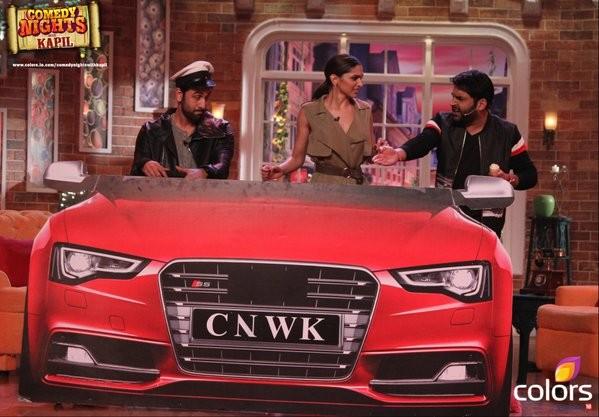 Deepika, Ranbir on 'Comedy Nights With Kapil'