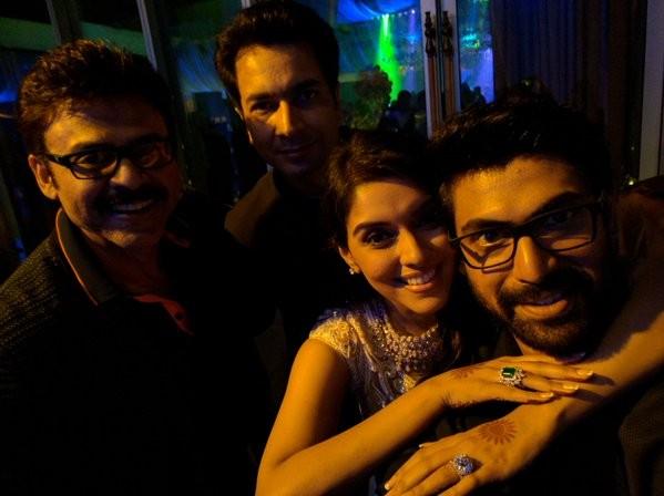 Asin and Rahul Sharma wedding reception