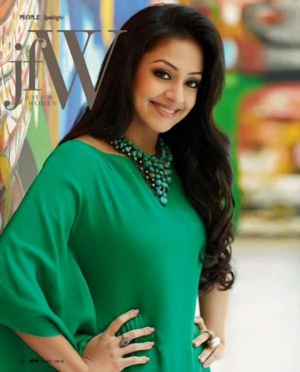Jyothika Photoshoot For JFW Magazine