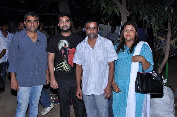 Simbu and Selvaraghavan New Movie Launch,Simbu and Selvaraghavan,Simbu,Selvaraghavan,Simbu new movie,Selvaraghavan New Movie,Simbu and Selvaraghavan New Movie pooja
