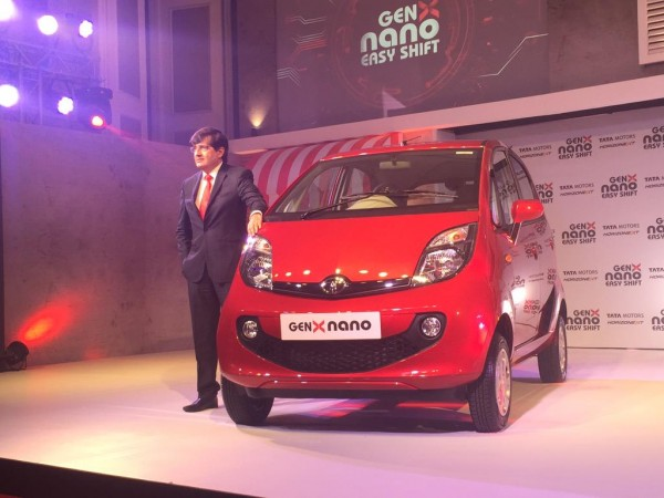 Tata Motors Launches Genx Nano Car Photos Images Gallery