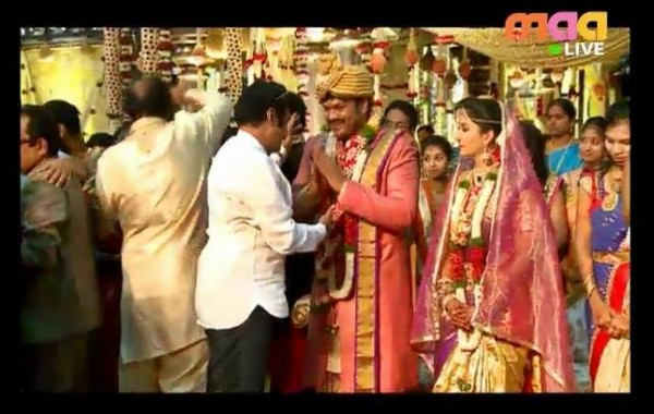 Celebs At Manchu Manoj Wedding Photos Images Gallery 13989