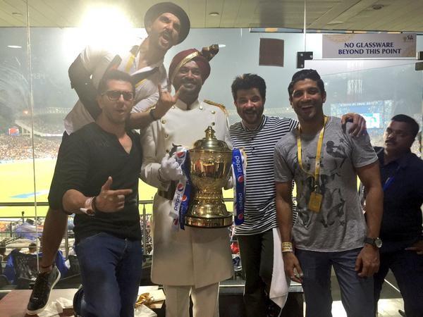 Ranveer Singh at IPL 2015 Final,Ranveer Singh,actor Ranveer Singh,Ranveer Singh watches IPL 2015 Final,IPL 2015 Final,IPL 2015 Final pics,IPL 2015 Final images,IPL 2015 Final photos,IPL 2015 Final stills