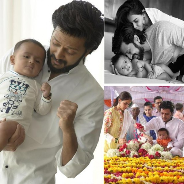 Riteish Deshmukh and Genelia D'Souza reveal the first look ...