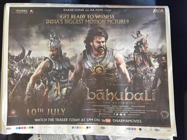 Baahubali Trailer at Theatres,Baahubali Trailer,Baahubali,Fans Celebration,Fans Celebration for Baahubali Trailer,Baahubali - The Beginning Teaser,Prabhas,Rana Daggubati,S. S. Rajamouli
