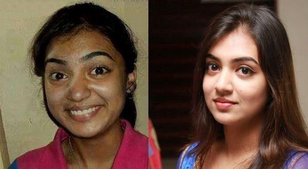 South Indian Actress With And Without Make Up Photos