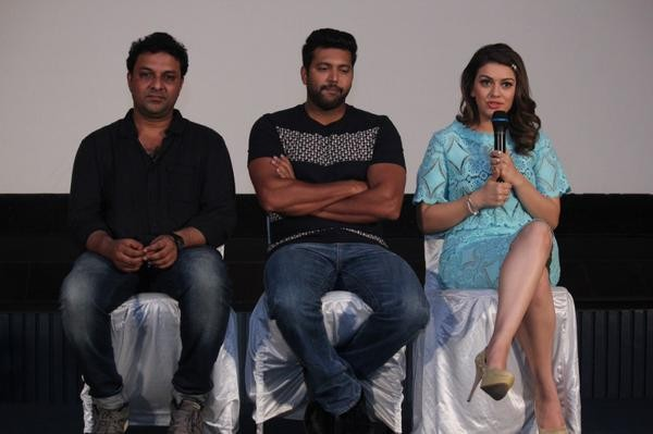 Romeo Juliet,Romeo Juliet Press Meet,Jayam Ravi,Hansika Motwani,Jayam Ravi and Hansika Motwani,Romeo Juliet Press Meet pics,Romeo Juliet Press Meet images,Romeo Juliet Press Meet photos,Romeo Juliet Press Meet stills